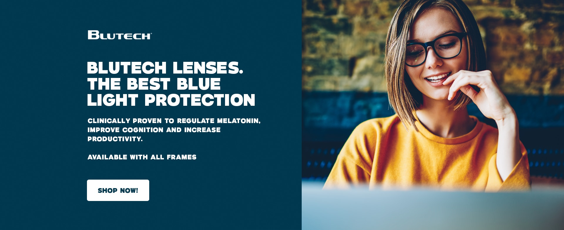 Self care includes protection from blue light to reduce digital eye strain headaches and sleep disruption