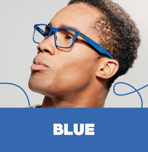 Shop Blue Frames