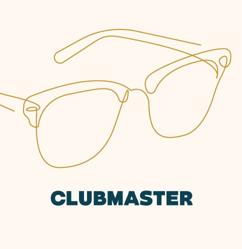 Shop Clubmaster Style Glasses