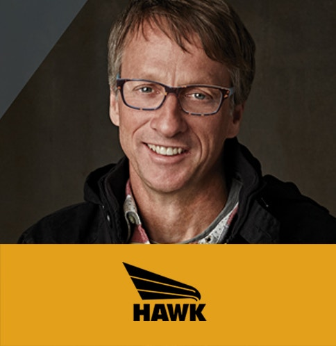 Tony Hawk Glasses - available with blue light protection lenses