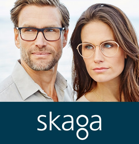 Skaga Glasses for minimalist Scandie style