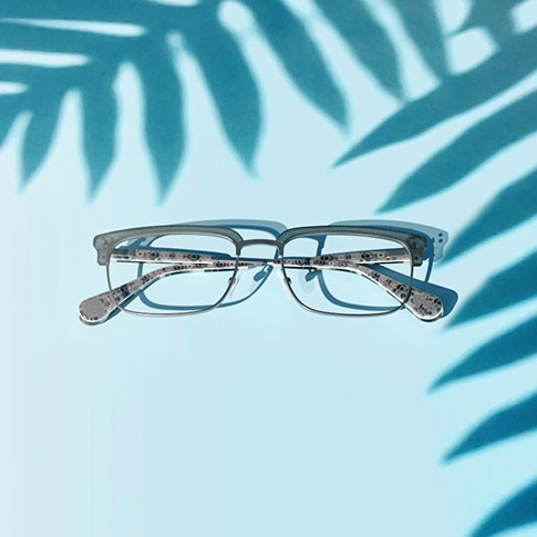 Shop the Miami Art Deco Collection available with blue light protection lenses
