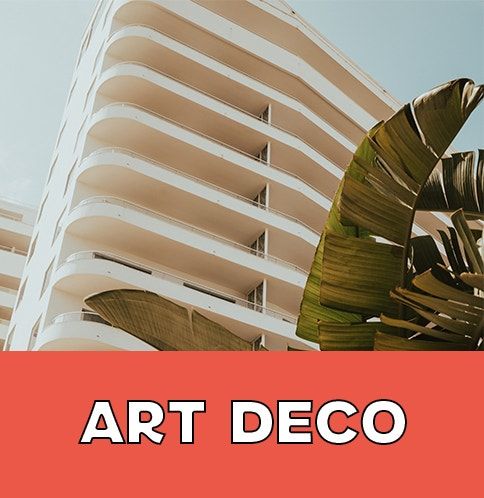 Shop Miami Art Deco Collection