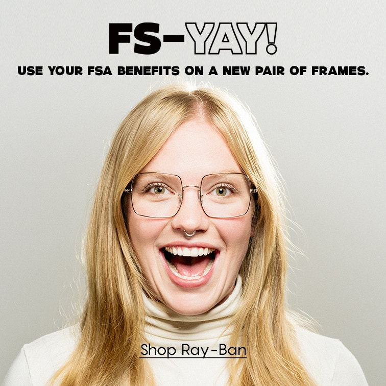 Shop Ray-Ban for glasses you'll love - and get free lenses!